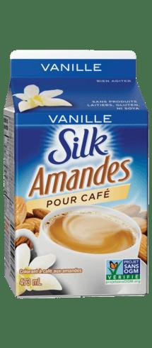 Silk pour café Amandes Vanille