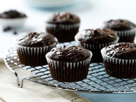 Muffins au chocolat et aux courgettes