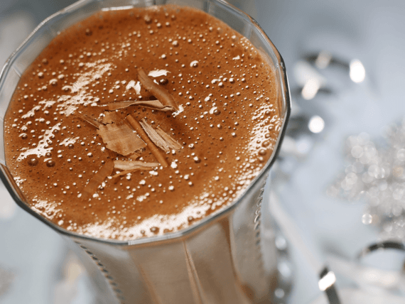 Smoothie double chocolat