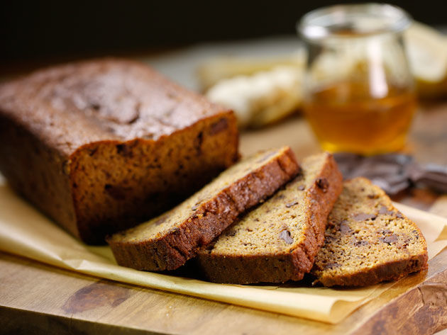 Silk Espresso Chip Banana Bread