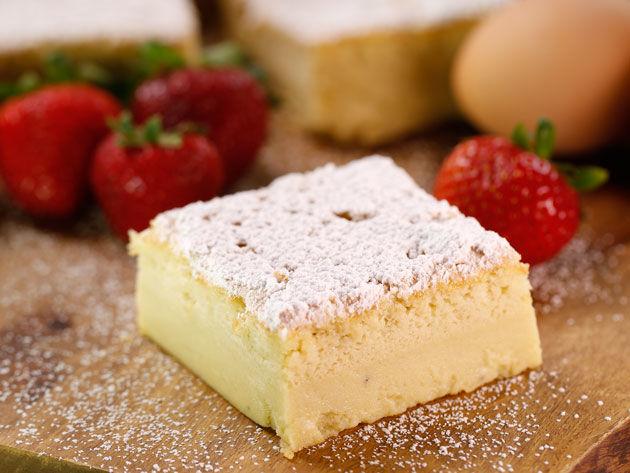 Silk Magic Custard Cake