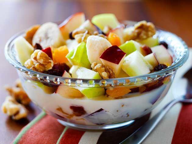 « Céréales » de fruits rafraîchissantes