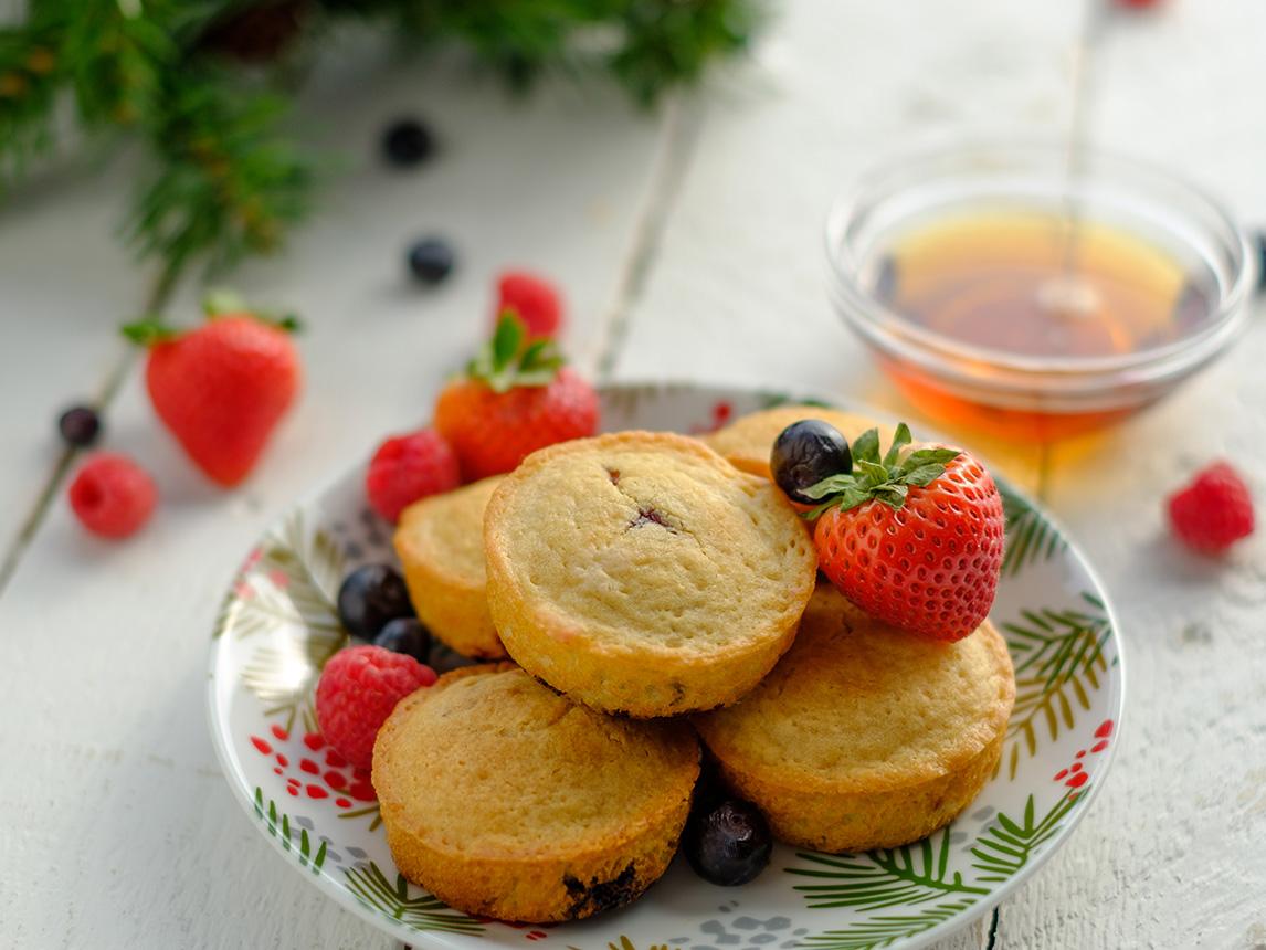 Petits muffins croustillants
